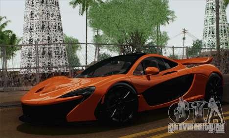 McLaren P1 Black Revel для GTA San Andreas