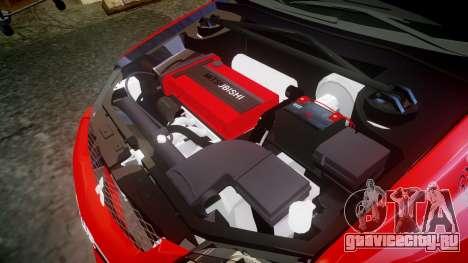 Mitsubishi Lancer Evolution IX Fast and Furious для GTA 4 вид сбоку