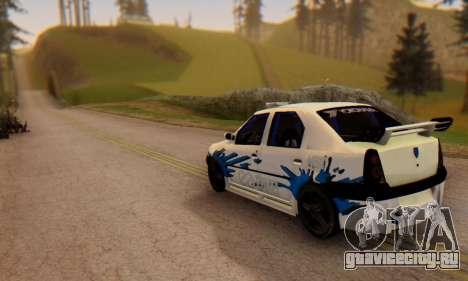 Dacia Logan Tuning для GTA San Andreas вид слева