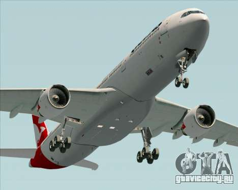 Airbus A330-300 Qantas (New Colors) для GTA San Andreas вид справа