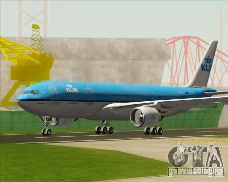 Airbus A330-200 KLM - Royal Dutch Airlines для GTA San Andreas вид слева