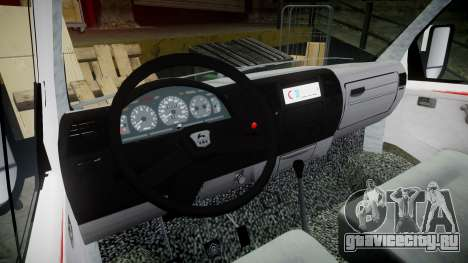ГАЗ-32214 Скорая помощь для GTA 4 вид сзади