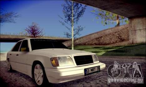 Mercedes-Benz E320 Delta Garage для GTA San Andreas вид справа