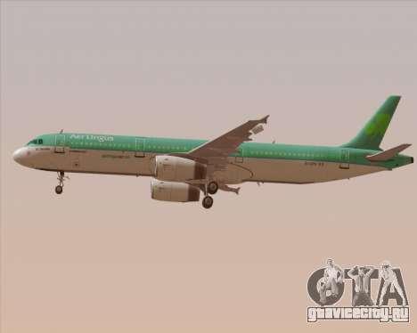 Airbus A321-200 Aer Lingus для GTA San Andreas колёса