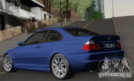 BMW E46 M3 для GTA San Andreas вид слева