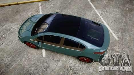 Chevrolet Volt 2011 v1.01 rims2 для GTA 4 вид справа