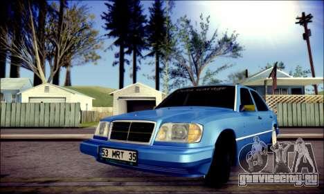 Mercedes-Benz E320 Delta Garage для GTA San Andreas вид сверху