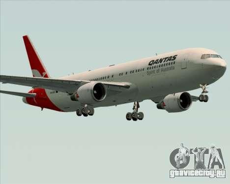 Boeing 767-300ER Qantas (Old Colors) для GTA San Andreas вид снизу