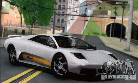 GTA 5 Infernus для GTA San Andreas