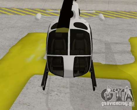 Buckingham Maverick V1.0 для GTA San Andreas вид слева