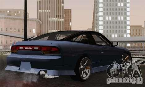 Nissan 180SX S13 для GTA San Andreas вид слева