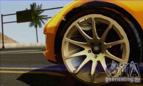 Invetero Coquette для GTA San Andreas вид сзади слева