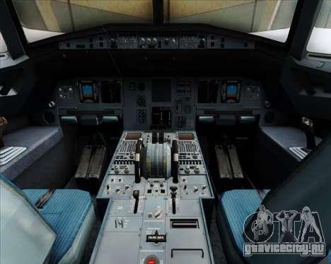 Airbus A320-200 Ansett Australia для GTA San Andreas салон