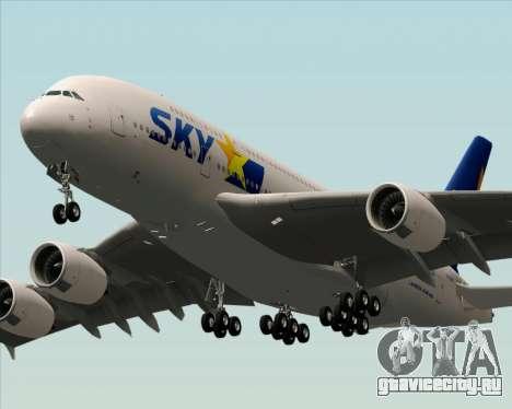 Airbus A380-800 Skymark Airlines для GTA San Andreas