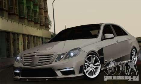 Mercedes-Benz W212 для GTA San Andreas