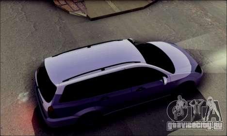 Ford Focus 1998 Wagon для GTA San Andreas вид сзади слева
