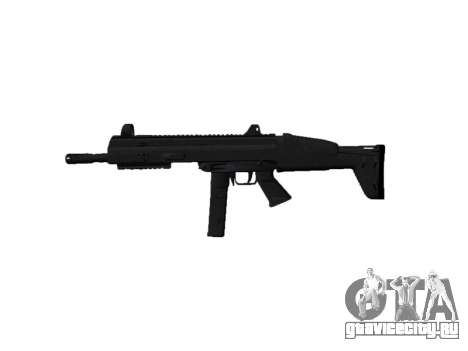 Пистолет-пулемет SMT40 with butt icon2 для GTA 4 третий скриншот