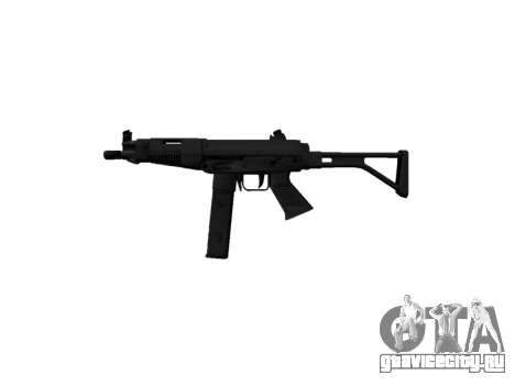 Пистолет-пулемет Taurus MT-40 buttstock2 icon3 для GTA 4 третий скриншот