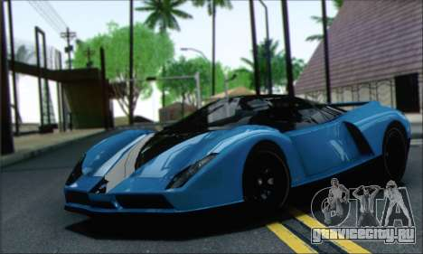 Grotti Cheetah (IVF) для GTA San Andreas
