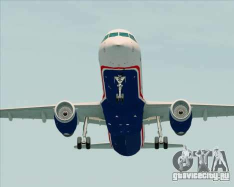 Airbus A321-200 US Airways для GTA San Andreas вид справа