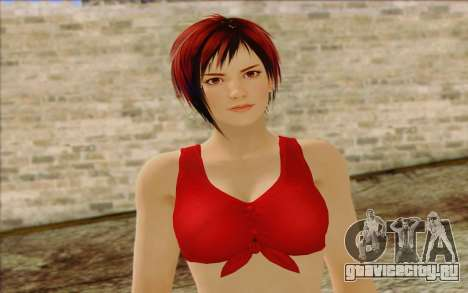 Mila 2Wave from Dead or Alive v8 для GTA San Andreas третий скриншот