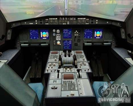 Airbus A330-300 Qantas (New Colors) для GTA San Andreas салон