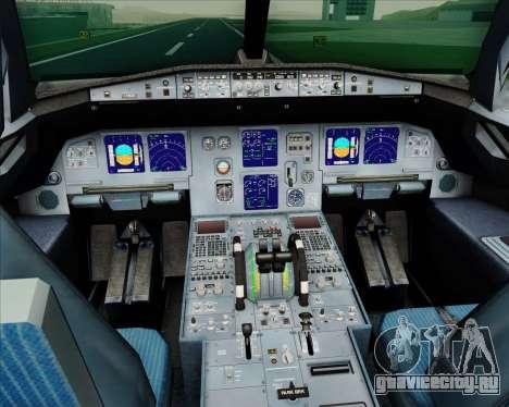 Airbus A321-200 LTU International для GTA San Andreas салон