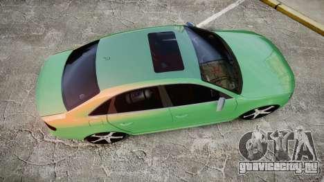 Audi S4 2010 FF Edition для GTA 4 вид справа