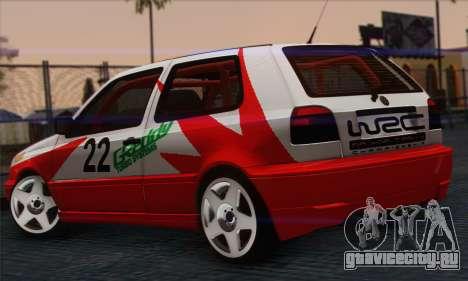 Volkswagen Golf Mk3 для GTA San Andreas вид слева