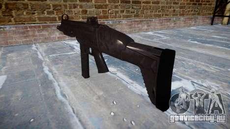 Пистолет-пулемет SMT40 with butt icon2 для GTA 4 второй скриншот