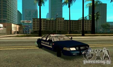 FCPD Ford Crown Victoria для GTA San Andreas