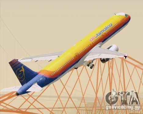 Airbus A321-200 Air Jamaica для GTA San Andreas