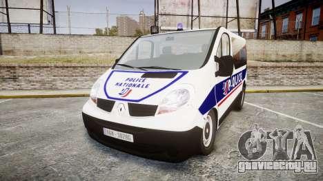 Renault Trafic Police Nationale для GTA 4
