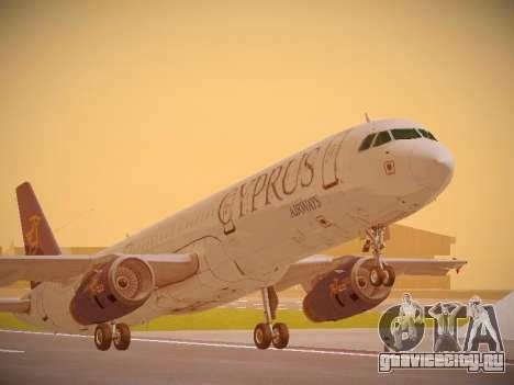 Airbus A321-232 Cyprus Airways для GTA San Andreas
