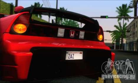 Honda NSX 2005 для GTA San Andreas вид слева
