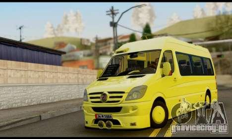 Mercedes-Benz Sprinter Eyüp Dolmuş для GTA San Andreas