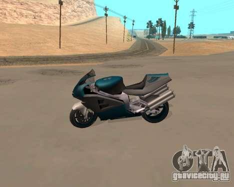 NRG-500 Winged Edition V.1 для GTA San Andreas вид сбоку