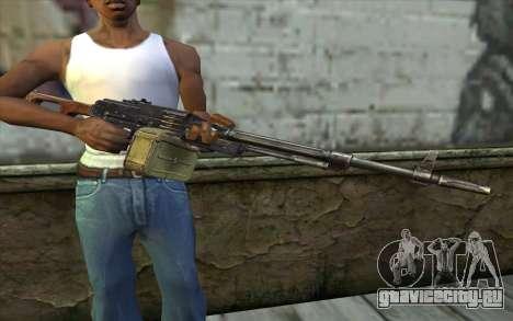 Пулемет Калашникова Модернизированный для GTA San Andreas третий скриншот