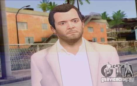 Michael from GTA 5 для GTA San Andreas третий скриншот