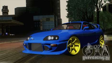 Toyota Supra Twin Turbo для GTA San Andreas