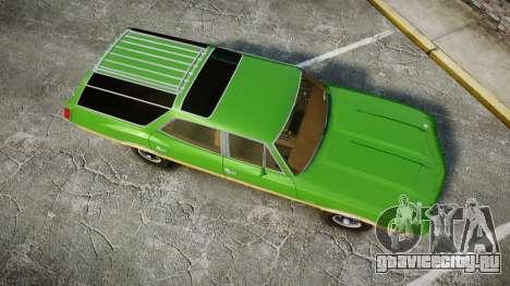 Oldsmobile Vista Cruiser 1972 Rims2 Tree6 для GTA 4 вид справа