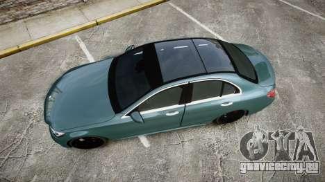 Mercedes-Benz C250 для GTA 4 вид справа