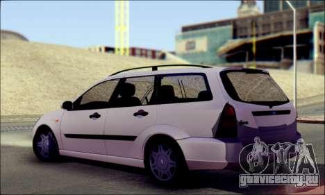 Ford Focus 1998 Wagon для GTA San Andreas вид слева