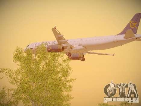 Airbus A321-232 Cyprus Airways для GTA San Andreas вид сбоку