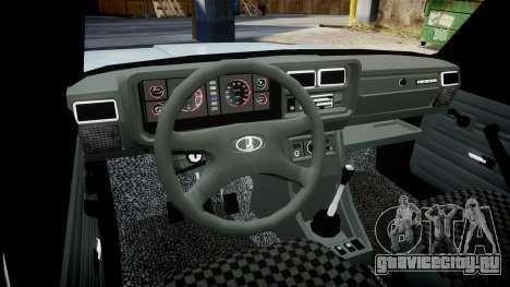 ВАЗ-2104 хулиганский азербайджанский стиль для GTA 4 вид изнутри