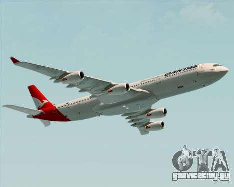 Airbus A340-300 Qantas для GTA San Andreas вид справа