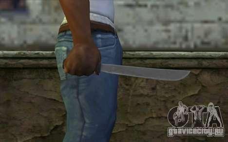 Мачете (DayZ Standalone) v2 для GTA San Andreas третий скриншот