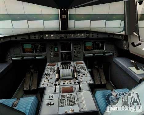Airbus A380-800 Japan Airlines (JAL) для GTA San Andreas салон