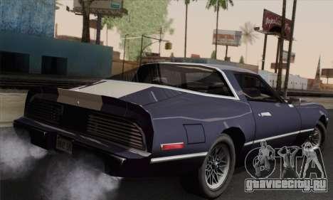 New Phoenix для GTA San Andreas вид слева