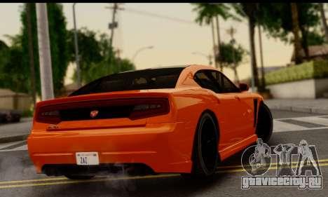 Bravado Buffalo S (HQLM) для GTA San Andreas вид слева